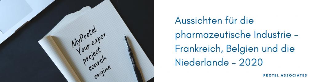 Aussichten für die pharmazeutische Industrie – Frankreich, Belgien und die Niederlande – 2020